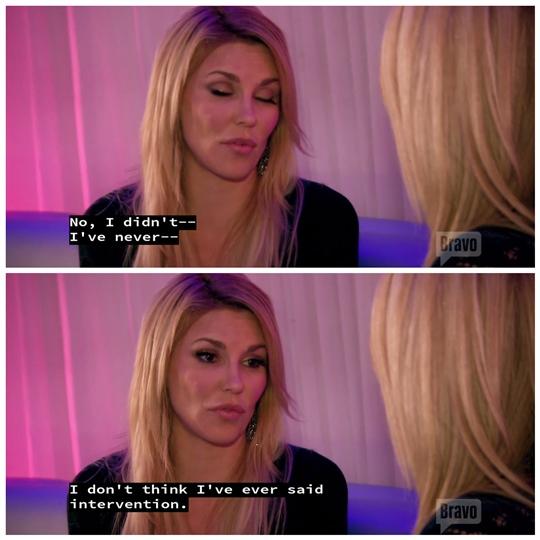 Brandi lying RHOBH