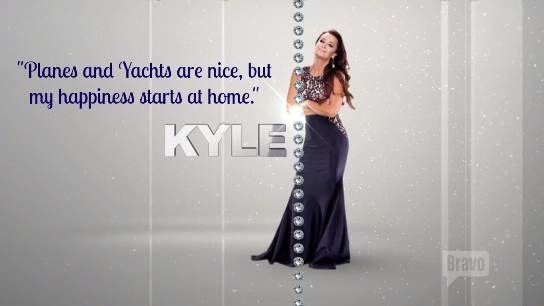 Kyle Richards tagline