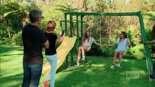Lisa Rinna Swingset