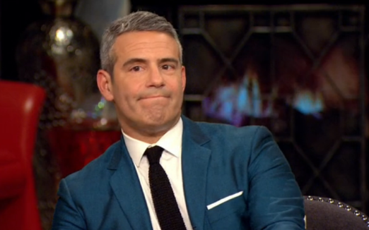 Andy Cohen Keeping Quiet