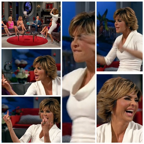 Lisa Rinna Goes off on RHOBH Reunion
