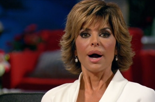 Lisa Rinna Shocked RHOBH Reunion
