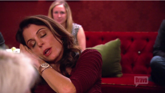 Bethenny bored with Heather RHONY