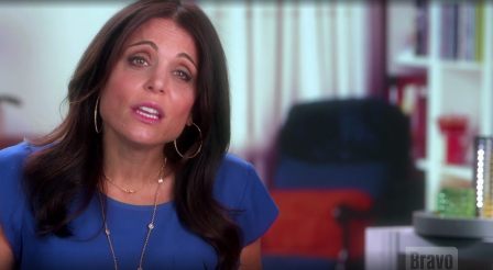 Bethenny reaction to seeing