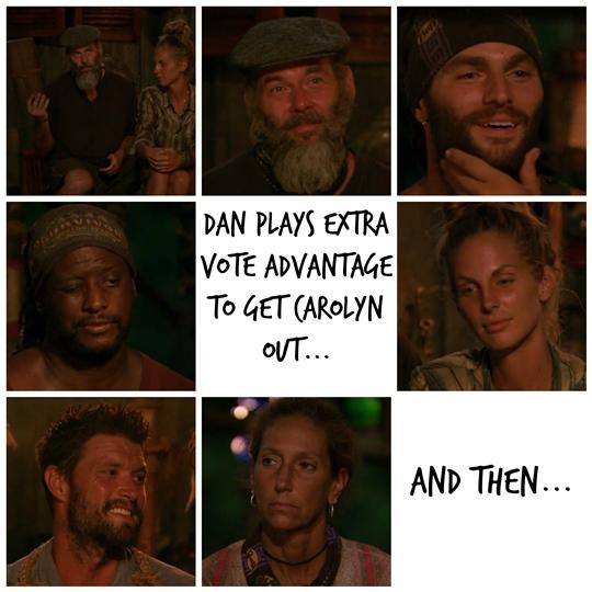 Dan Plays Extra vote Survivor