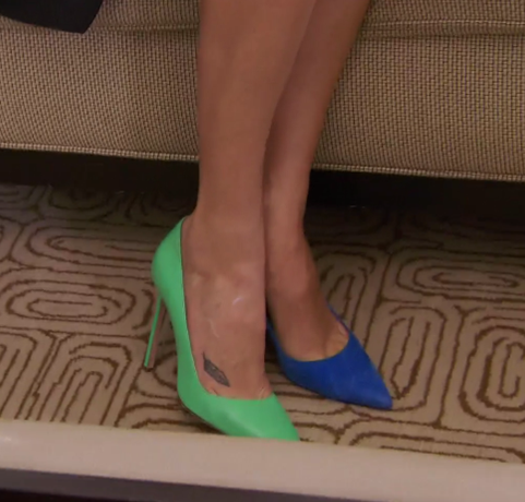 RHONY Kristen Mixed Shoes