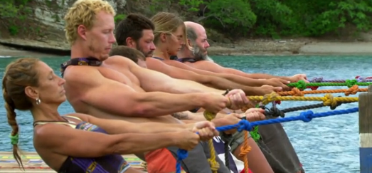 Survivor Immunity ropes