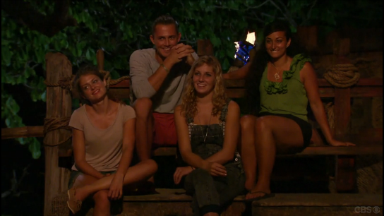Survivor Jury happy
