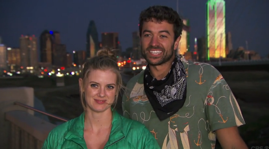 laura and tyler love amazing race