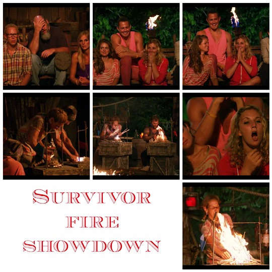 survivor fire challenge