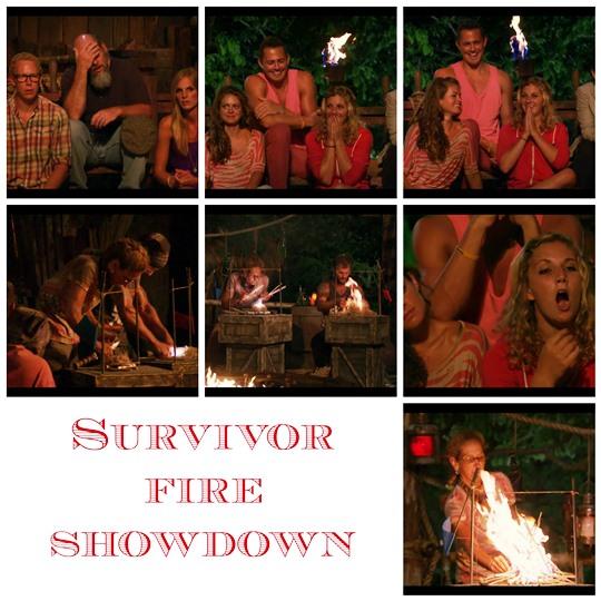 survivor fire challenge