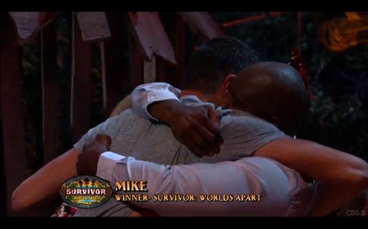 survivor mike wins