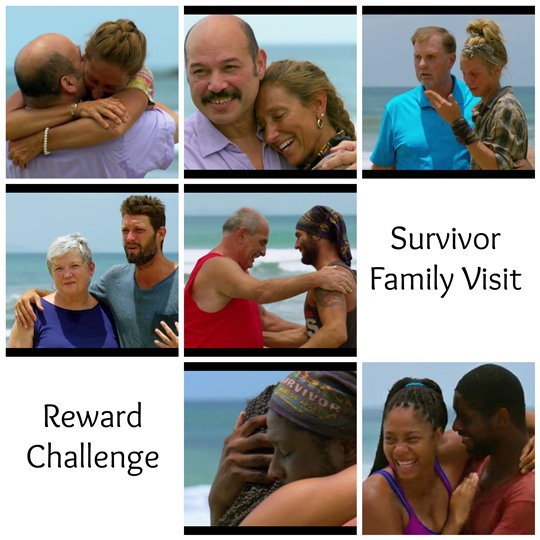 survivor reward family time