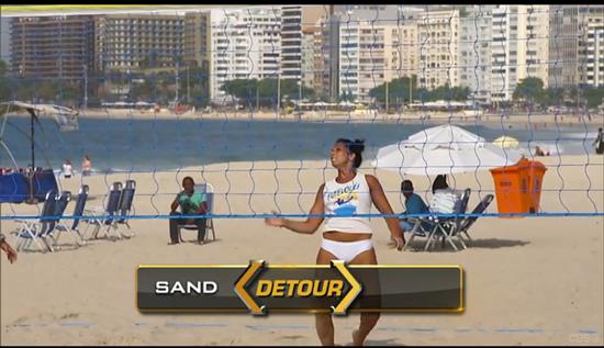 Amazing Race Sand Detour