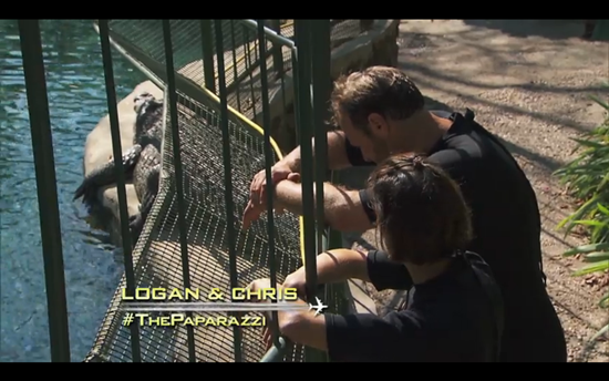 amazing race logan chris