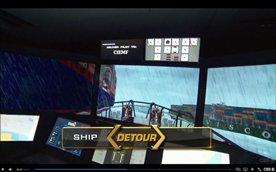 Amazing Race Detour Ship
