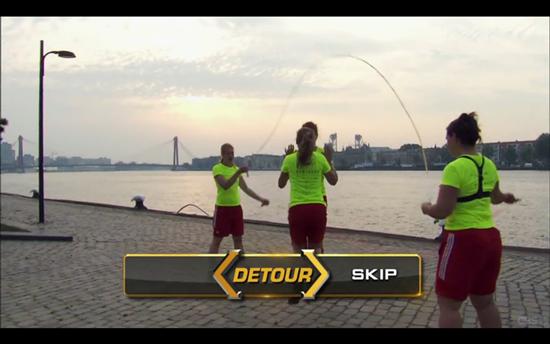 Amazing Race Detour Skip