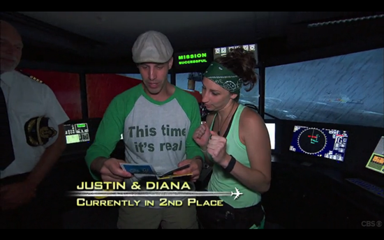 Amazing Race green team