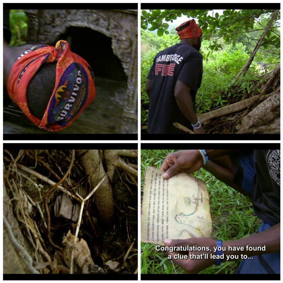 Survivor Jeremy finds hidden immunity idol clue
