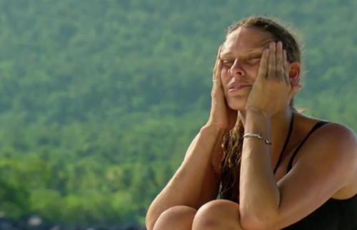 Survivor Kimmy mad at Monica 2