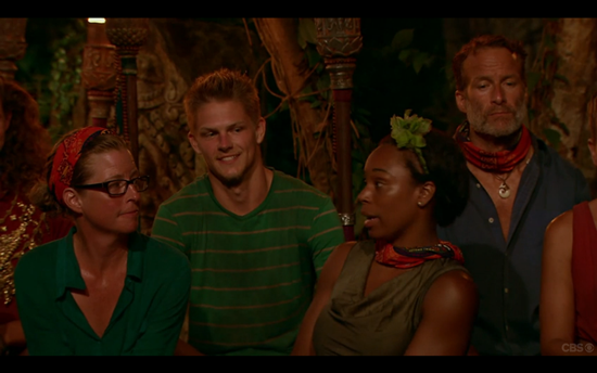 Survivor Tribal Council kass tasha