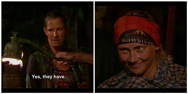 Survivor rainy tribal council wiggleworth voted off tribe has spoken