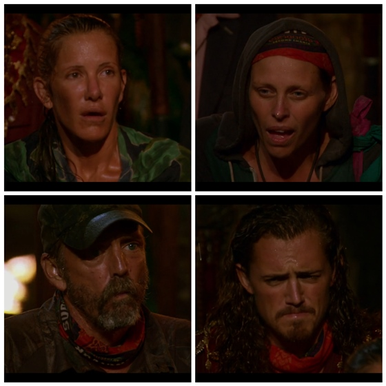 Survivor rainy tribal coucil wiggleworth voted off