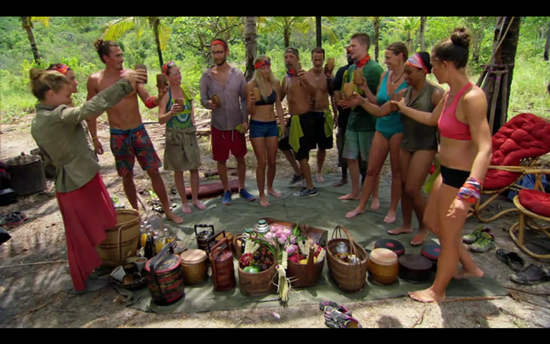 Survivor tribes merge 2