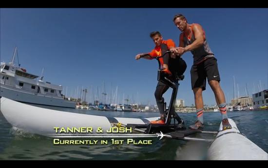Tanner and Josh amazing race