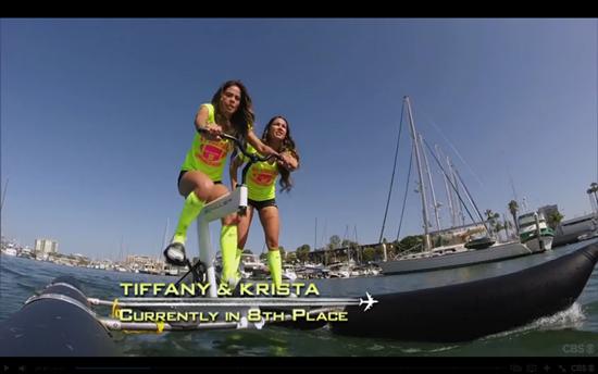 tiffany and krista amazing race
