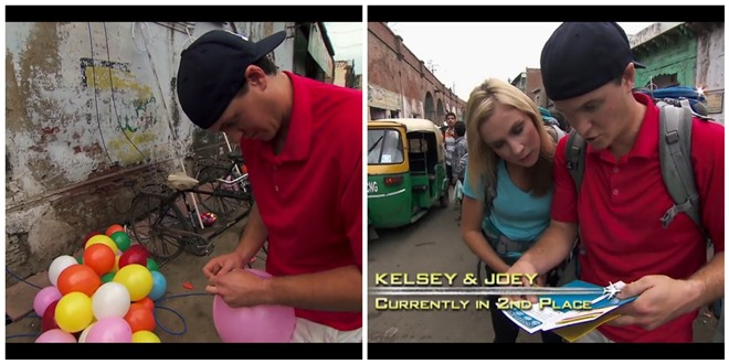 Amazing Race Joey Kelsey India