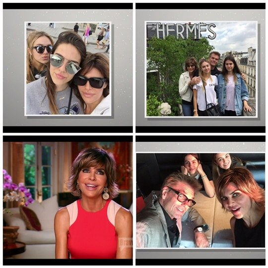 RHOBH Lisa Rinna and family