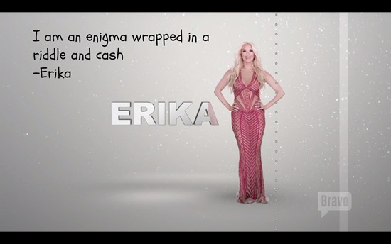 RHOBH Season 6 tagline ERika