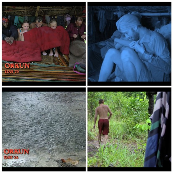 Survivor Cambodia Raining Stephen sick