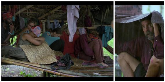 Survivor Cambodia Raining