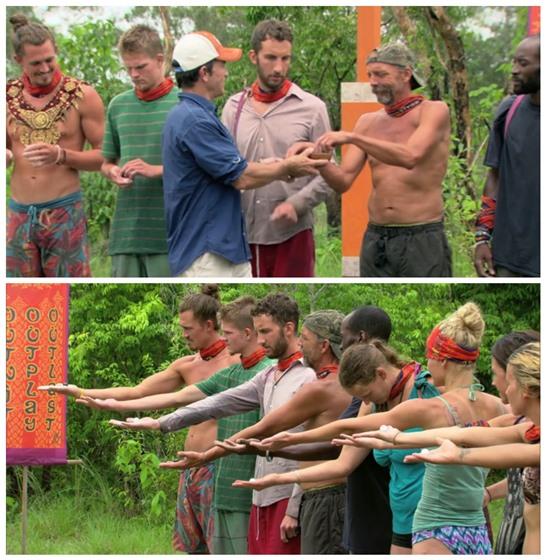 Survivor Cambodia Twist for a new shelter