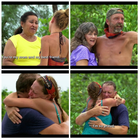Survivor Second Chance Family Visits 2