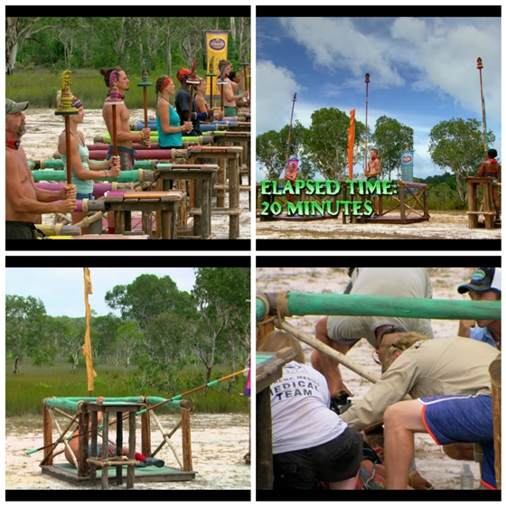Survivor Second Immunity Joe collapses